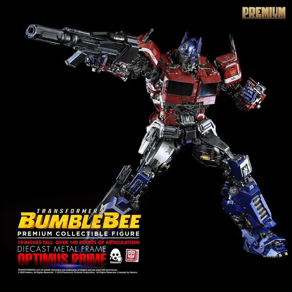 ThreeZero Optimus Prime Premium Ed (Bumblebee)