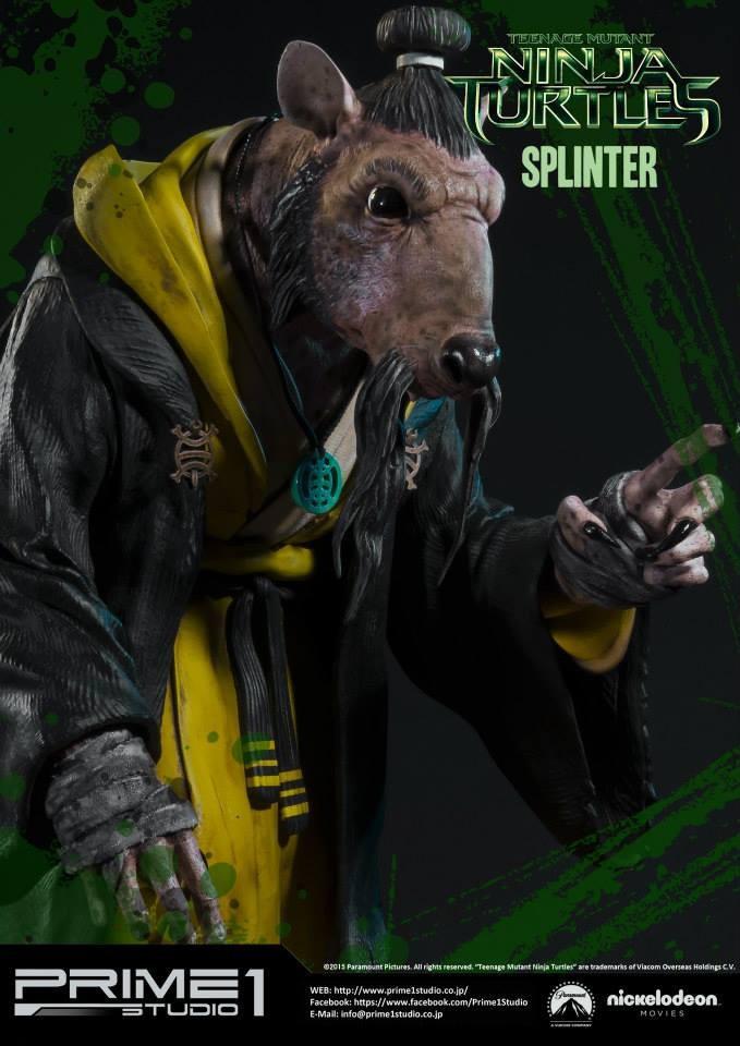 Tmnt Splinter Statue