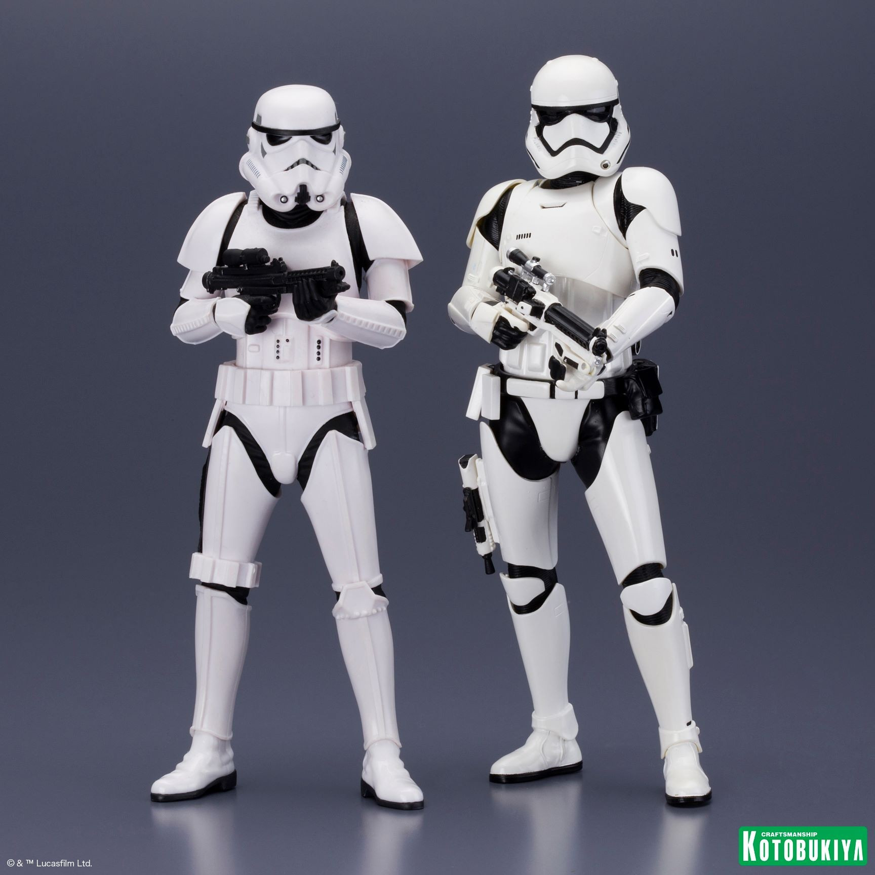First Order Stormtrooper Twin Pack ARTFX+