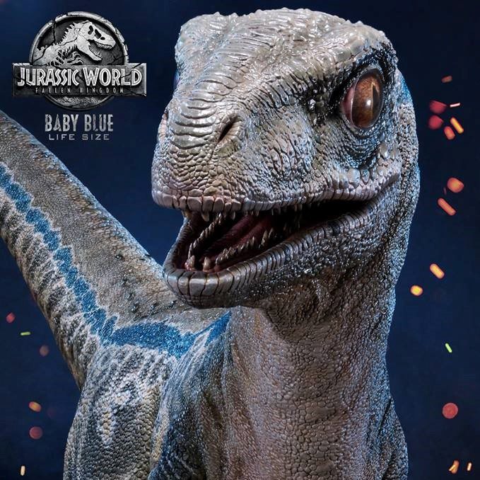 Jurassic World Baby Blue