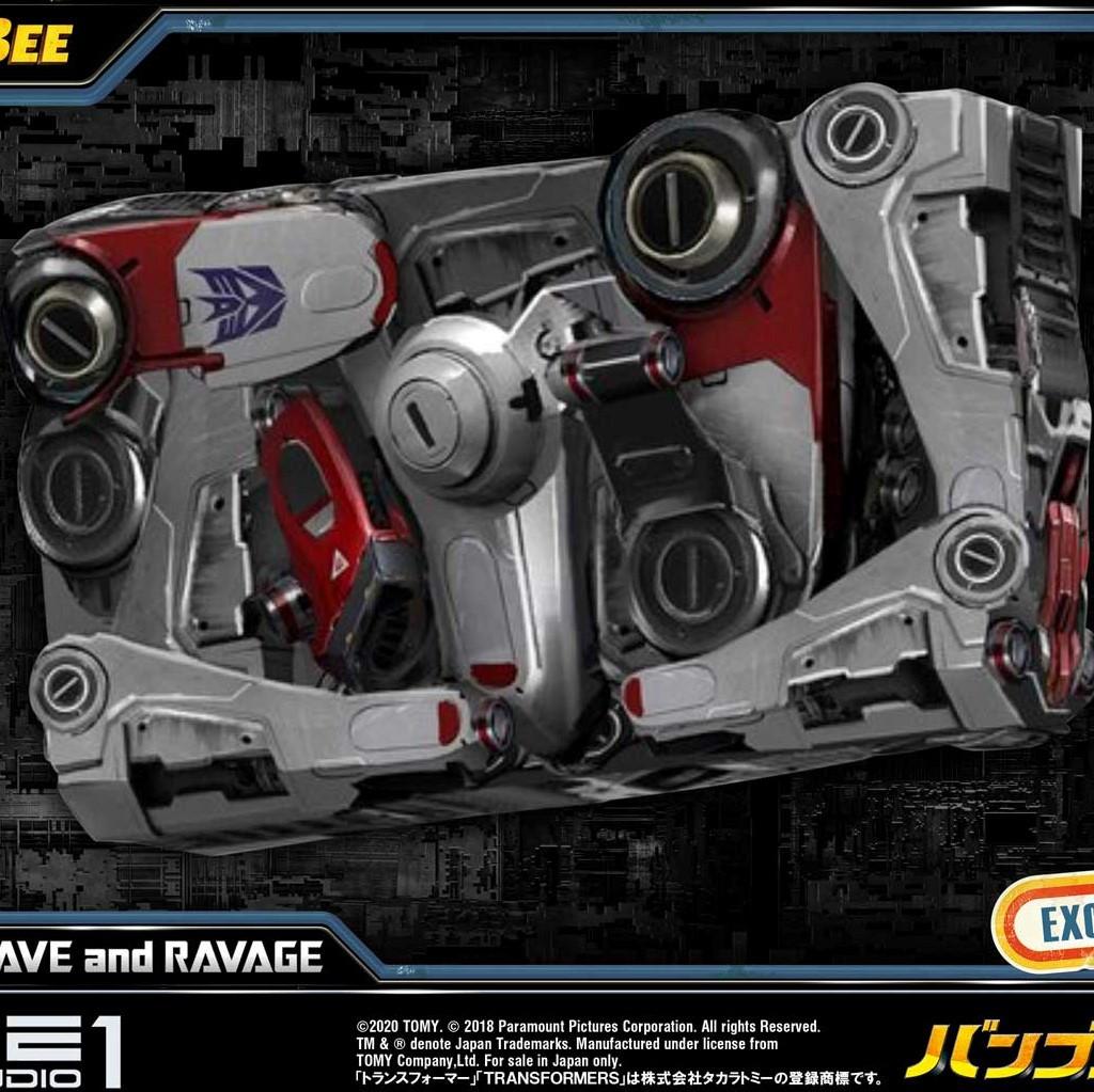 P1 Bumblebee : Shockwave and Ravage EX