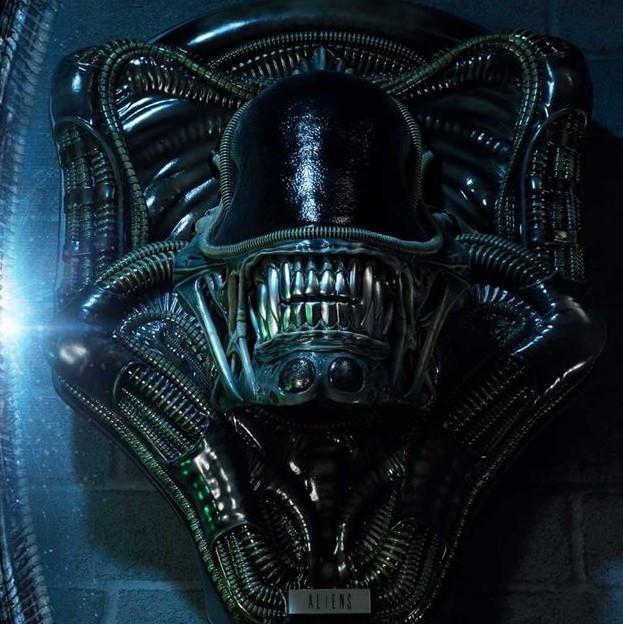 P1 Alien Warrior Head Trophy