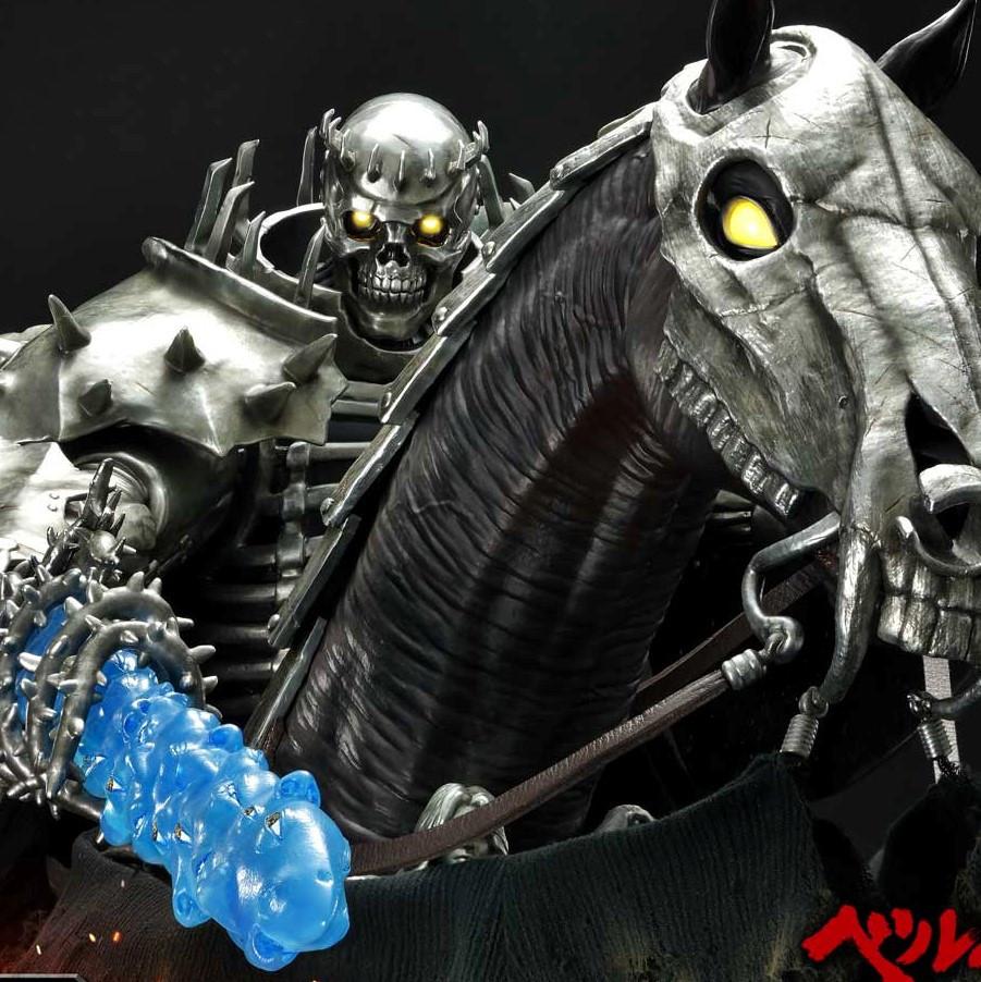 P1 Berserk Skull Knight on Horseback