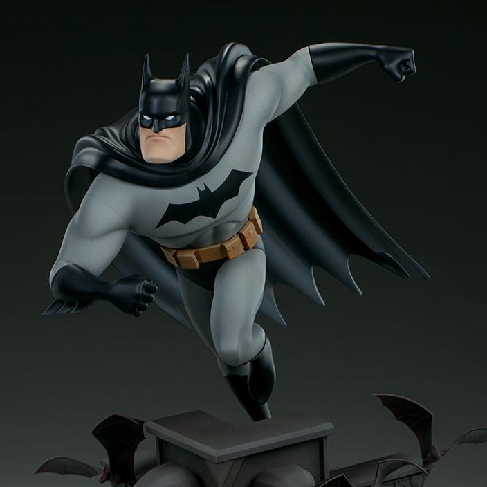 SC Animated Batman Statue