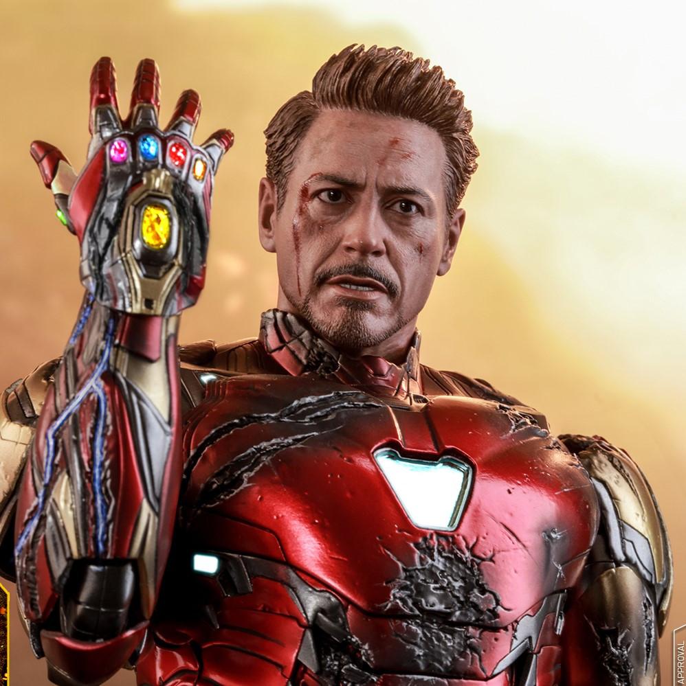 HT 1/6S Avengers: Endgame Iron Man Mark 85 (Battle Damaged)