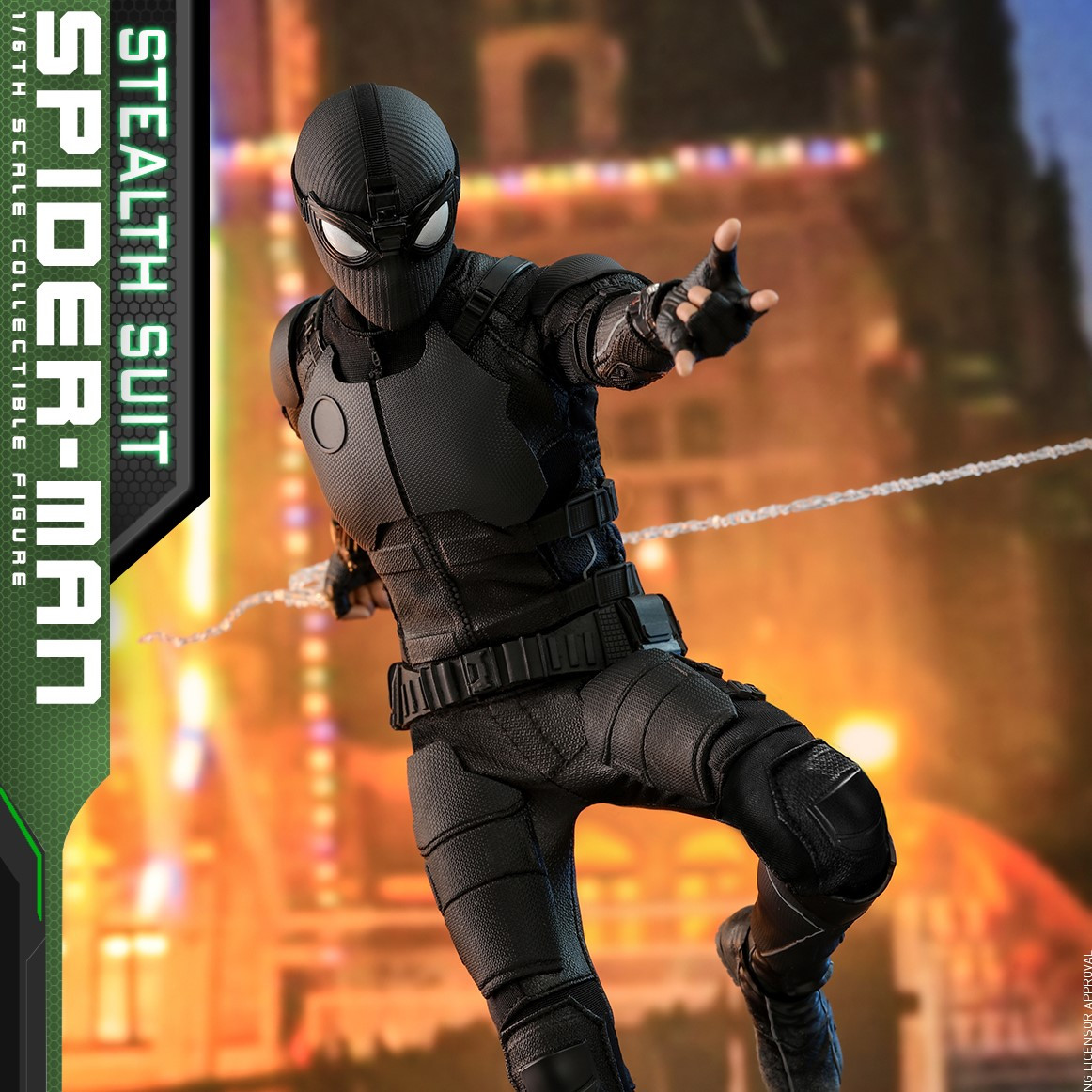 HT Spider-Man: Far From Home - 1/6th scale Spider-Man (Stealth Suit)