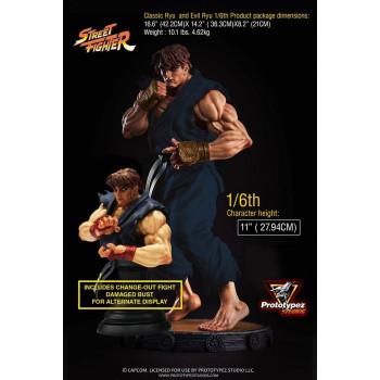 PZS 1/6S SF Evil Ryu