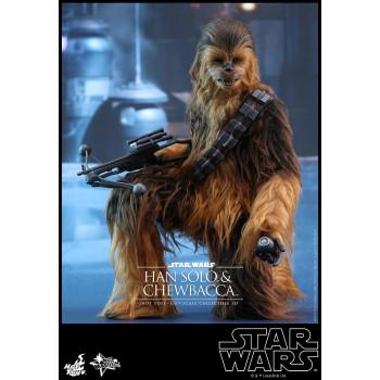 1/6S SW7 : TFA Han Solo & Chewbacca Set