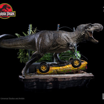 IS Jurassic Park T-Rex Attack Set A