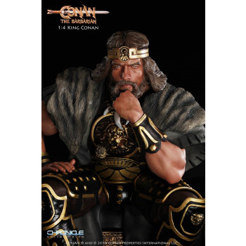 King Conan Statue