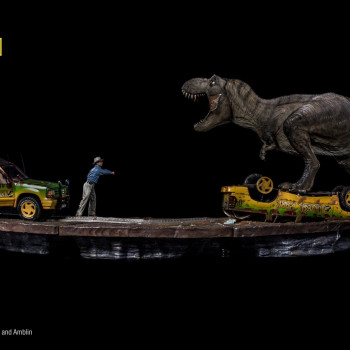 IS Jurassic Park T-Rex Attack Set A+B
