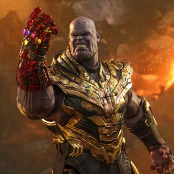 HT 1/6S Avengers Endgame Thanos Battle Damaged