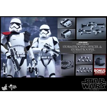 1/6S SW Ep. 7 First Order Stormtrooper Officer & Stormtrooper set