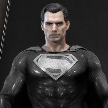 P1 MMJL-06BL ZSJL BLACK SUIT SUPERMAN