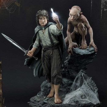 P1 PMLOTR-07 LOTR FRODO AND GOLLUM