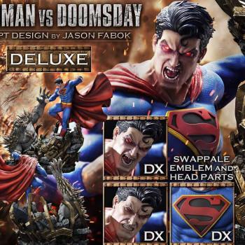 P1 UMMDC-05DX FABOK SUPERMAN VS DOOMSDAY DX