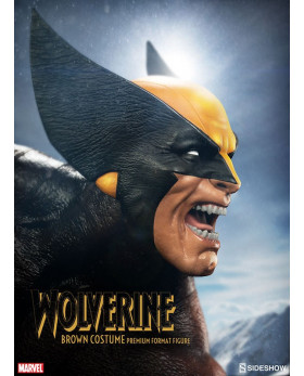 SC Brown Costume Wolverine PF