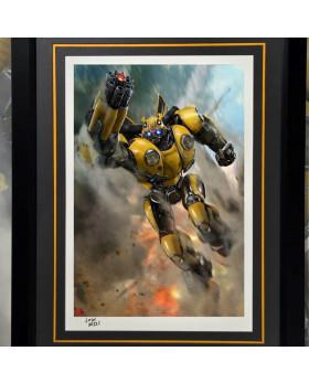 P1 Bumblebee Art Print (Framed)