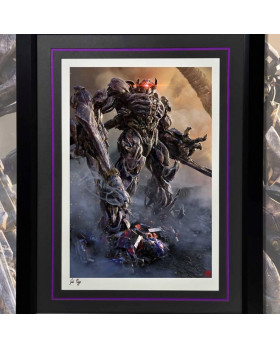 P1 Shockwave Framed Art Print