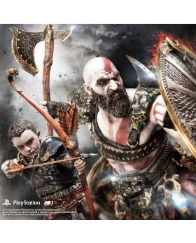 P1 GoW Kratos & Atreus