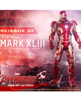 HT 1/6S Die Cast Iron Man Mark 43 Reissue