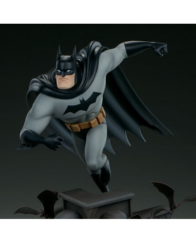 SC Animated Batman Statue
