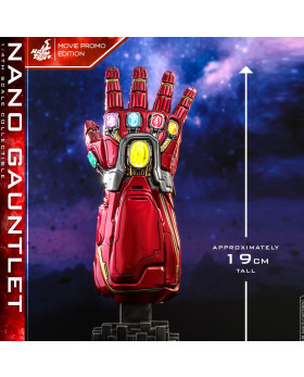 HT Avengers Endgame 1/4th scale Nano Gauntlet