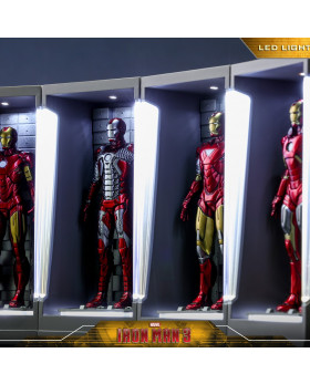 HT Iron Man Hall of Armor Miniature Collectible