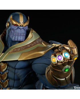 SC Thanos on Throne Maquette