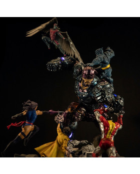 XM X-men vs Sentinel Diorama